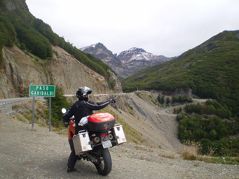 Paso Garibaldi, à caminho de Ushuaia