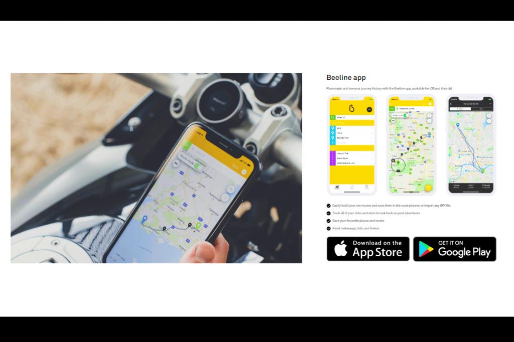 Beeline Moto: navegação simplificada para motos